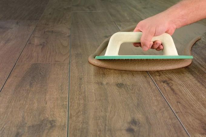 Wooden Floor Tile Grout Wikizie