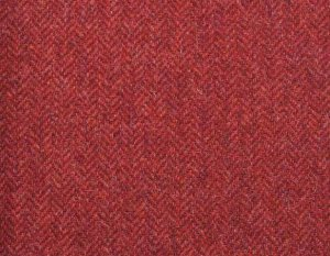 PS370-2002-66 Warm Red Shetland Tweed Trousers