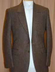 IRISH 4080/07 Brown Dongel Tweed Jacket