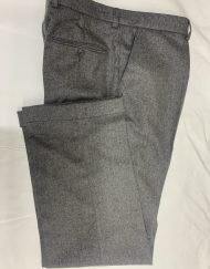Flannel Trousers - 3247/B02 Dark Grey