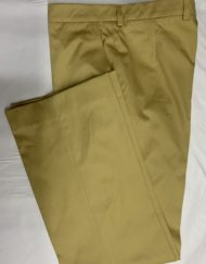 New Beige Cotton Chino Trousers