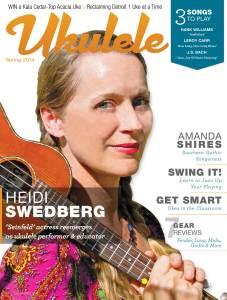 Ukulele Magazine - Spring 2014 Cover