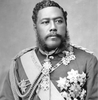 David Kalakaua, the last King of Hawaii and early champion of the ukulele