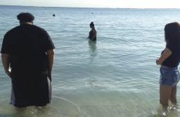 Family and friends remember Dang at a memorial in Hawaii.