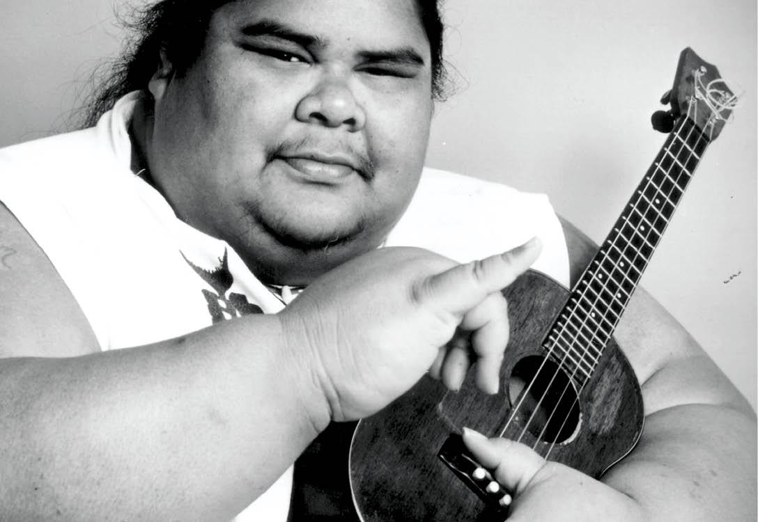 Kết quả hình ảnh cho Career only of israel Kamakawiwoʻole