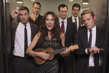 "Laura Benanti playing the Ukulele on ""Nashville"""