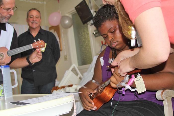 Ukulele Kids Club Provides Instrumental Healing Ukulele