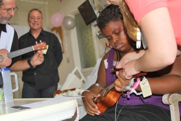 The Ukulele Kids Club helps hospitalized children recover through the power of the Ukulele.