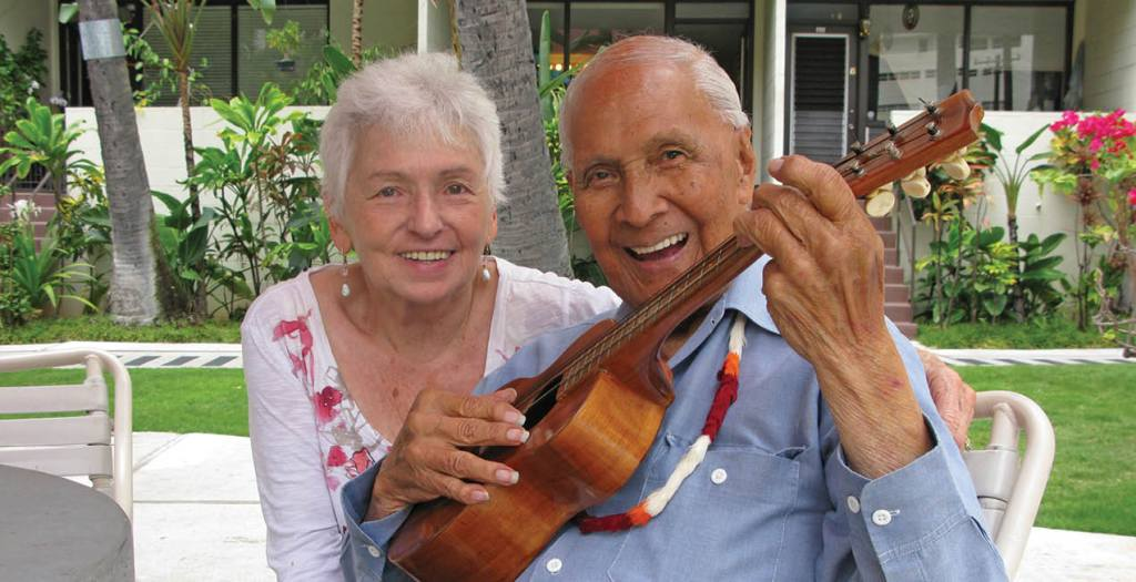 Myrna and Eddie Kamae