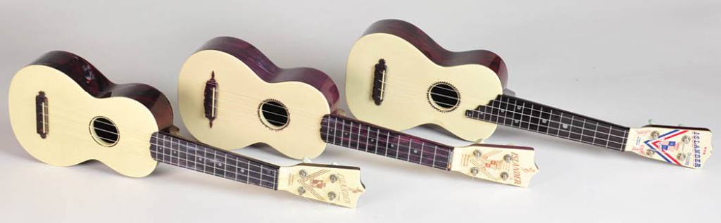 Islander Ukulele's were produced by DuPont