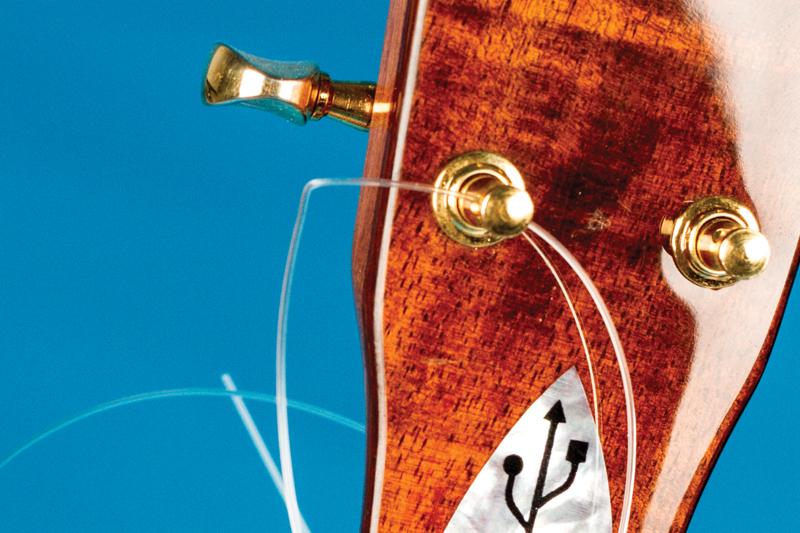 How to change ukulele strings tuning pegs