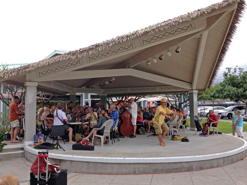 KONA Hale performs at the Kona International Market