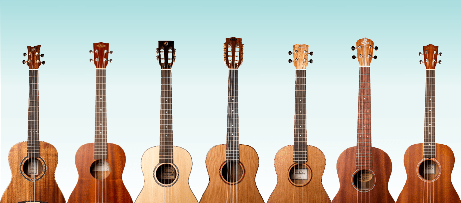 Gear Review Roundup 7 Big Boomy Baritone Ukuleles Ukulele