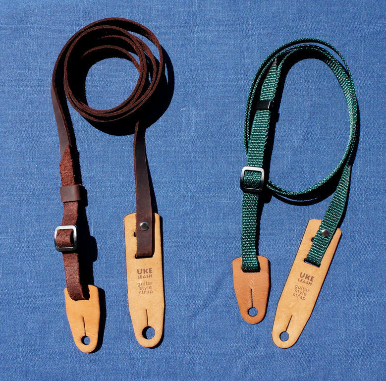 Guitar-style straps require button installation, but can also offer lots of stability.