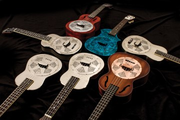 Reso Ukulele Roundup Kala Luna National Gretsch New Gear