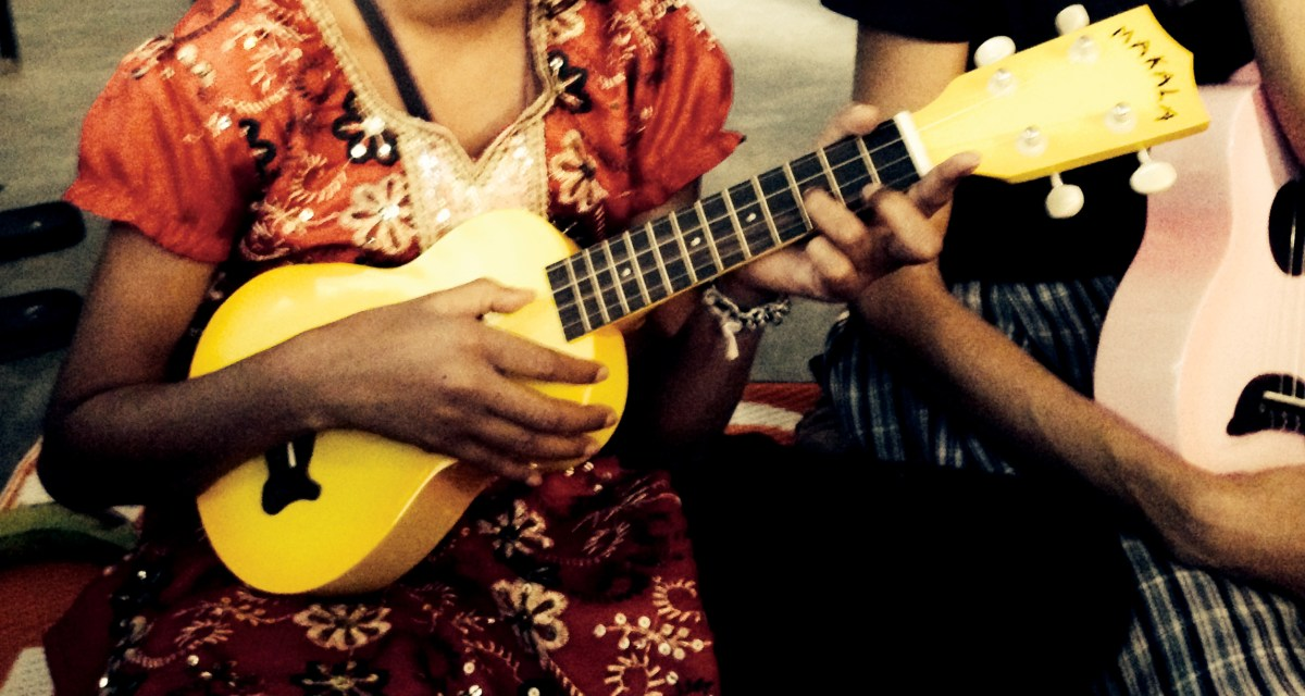 Using Ukuleles To Change The Lives Of Some Of Indias Most