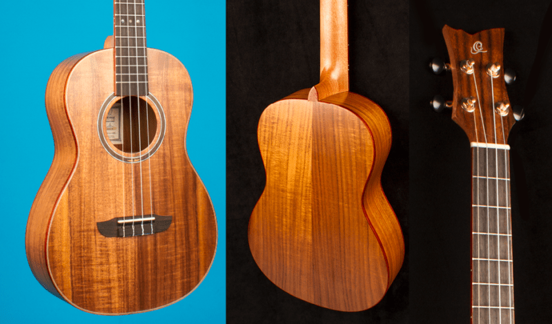 Ortega RUACA-BA Acacia BARITONE ukulele review