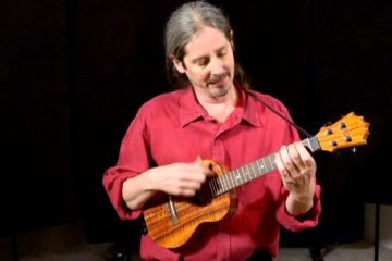 ukulele player Daniel Ward