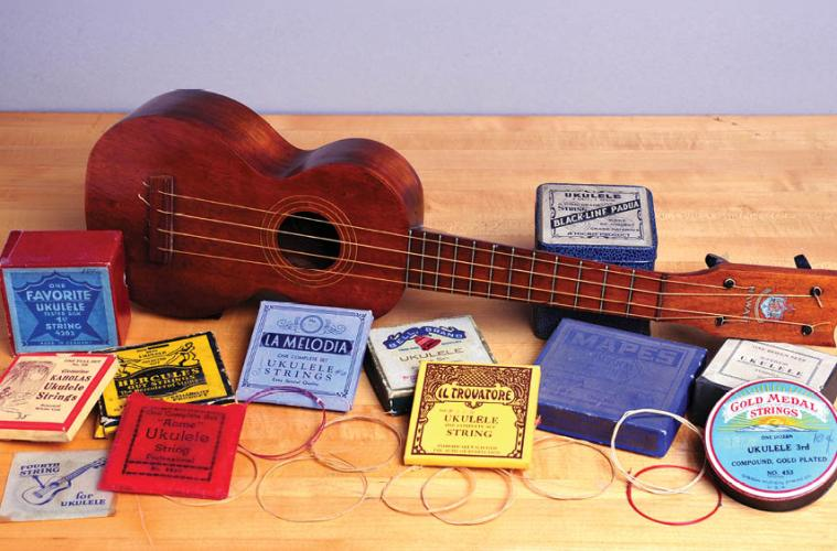 Vintage Ukulele Strings A Look at the Packaging and