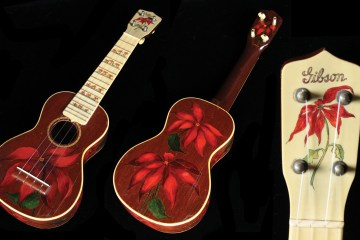 Gibson Poinsetta Great ukes