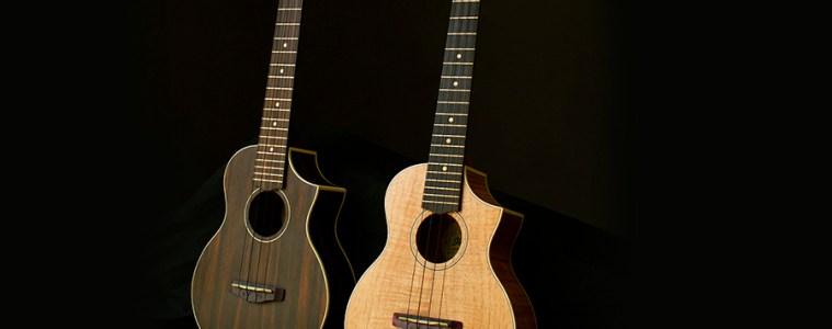 ibanez ew series ukuleles