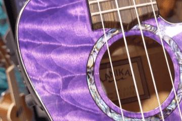 Lanikai purple ukulele NAMM 2020