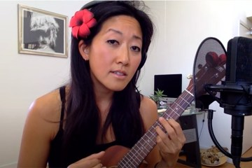 cynthia lin ukulele message in a bottle