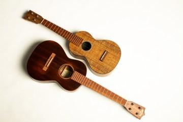 Martin T1 streetmaster tenor and 0XK concert ukuleles