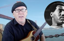 """jim D'Ville photo for how to play """"Sittin on the Dock of the Bay"""" by Otis Redding ukulele lesson"""
