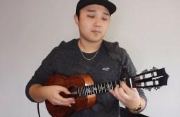 ukulele player kris fuchigami