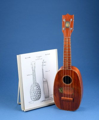 Kamaka pineapple uke and patent