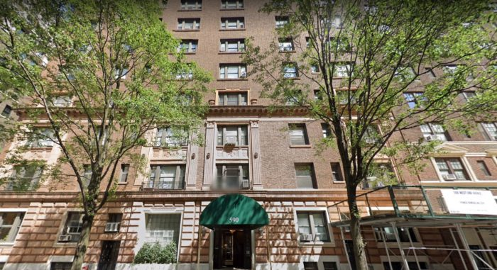 Roy Smeck's NYC apartment building at 590 West End Avenue