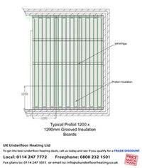 Working with pipe layouts - UK Underfloor Heating