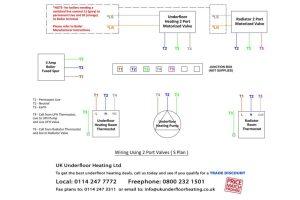 Wiring Diagrams  UK Underfloor Heating