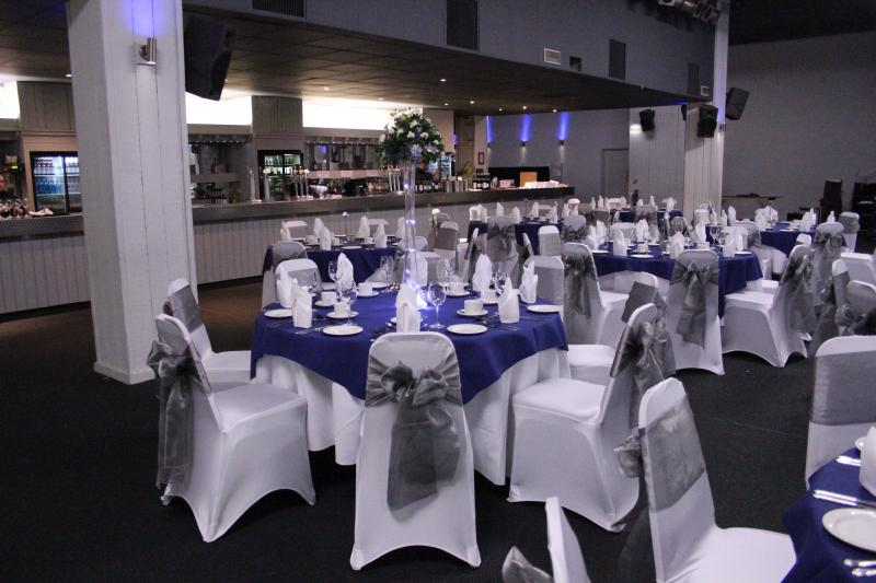wedding chair covers tamworth lazy boy reclining chairs snowdome reception venues staffordshire uk visitor image
