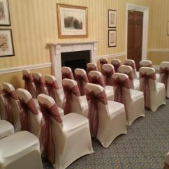 Wedding Chair Cover Hire Cannock Evenflo Compact High Dream Day Covers Venue West Midlands Dreamdaychaircovers Image