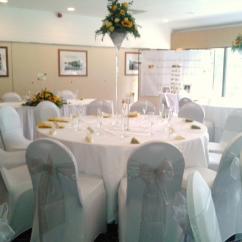 Chair Covers Hire In Wolverhampton Swing Rattan Chocolate Mountain Wedding Venue Lycra Pale Silver Scheme