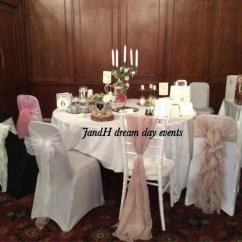 Chair Cover Hire Tamworth Hanging Stand Jandh Dream Day Events Wedding Venue Decorators Covers And Sashes