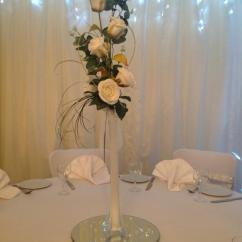 Wedding Chair Cover Hire Cannock Ergonomic Thesis Carabou Events Balloon Decorators Staffordshire Floral Table Centrepiece