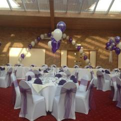 Wedding Chair Cover Hire Cannock Elmo Pull Out Carabou Events Balloon Decorators Staffordshire Covers And Balloons