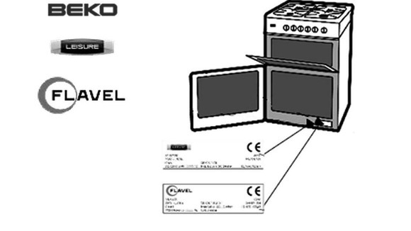 Beko Spare Parts Identification