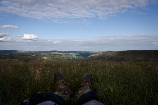 Wild Camp: Bleaklow and Kinder