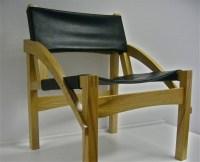 Leather Directors Chair | UKWorkshop