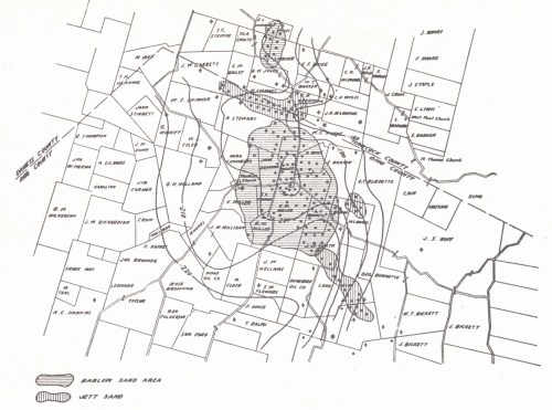 small resolution of structure map ambrose weller pool ohio county contoured on the top of the vienna brown lime limestone shiarella 1933 the occurrence of oil i