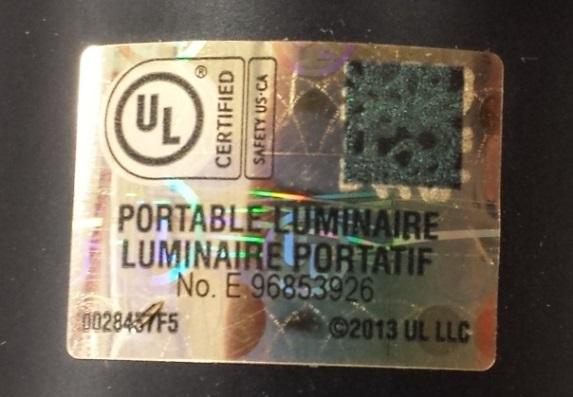 UL Warns of Unauthorized UL Marks on Floor and Table Lamps  UL