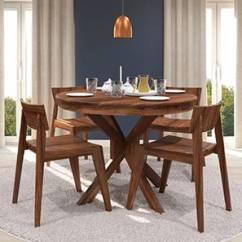 Black Kitchen Table And Chairs Blender Arabia Oribi 6 Seater Dining Set Urban Ladder Liana Gordon 4 Round
