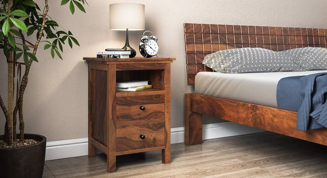 Snooze Tall Bedside Table Urban Ladder