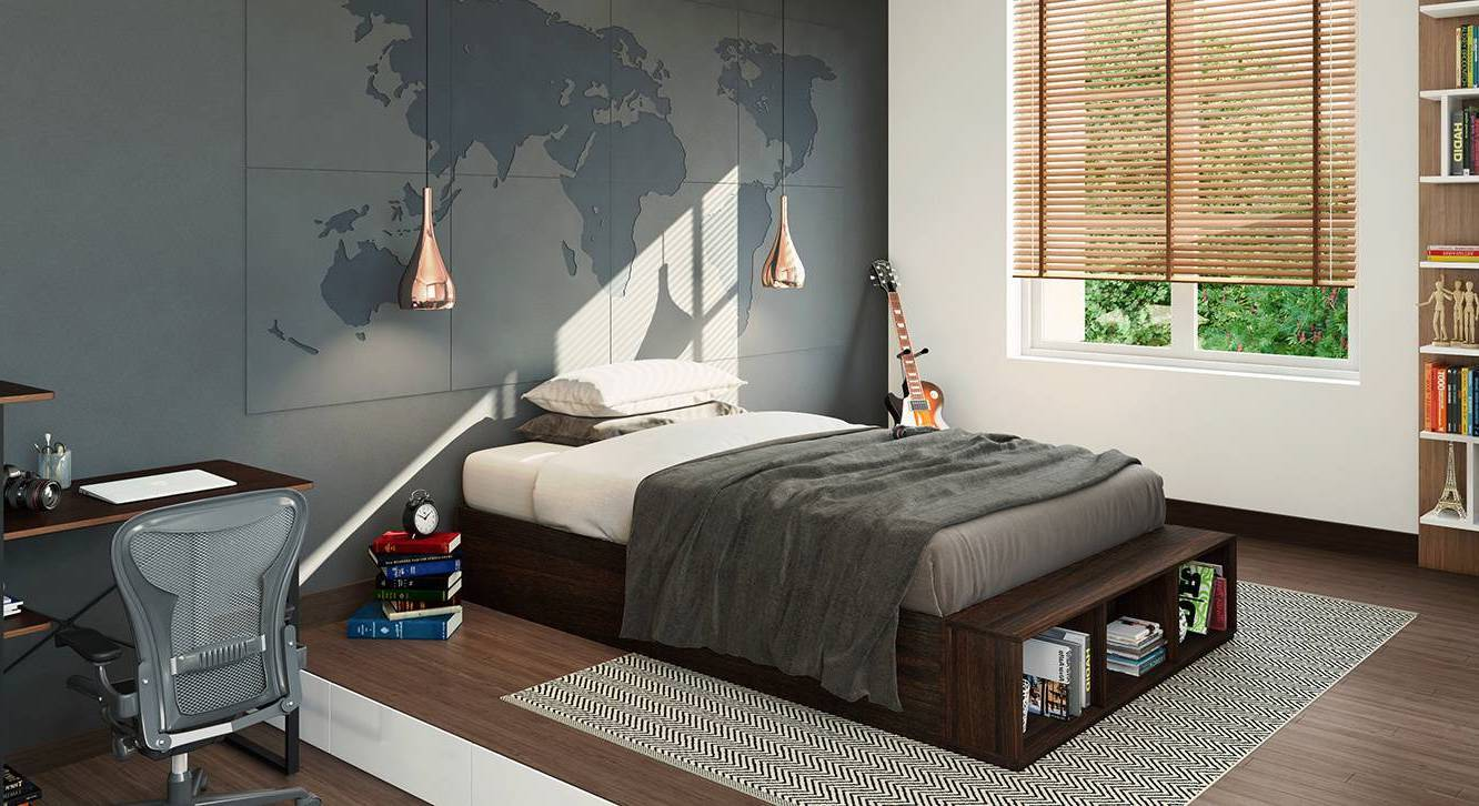 toshi teen bed with storage