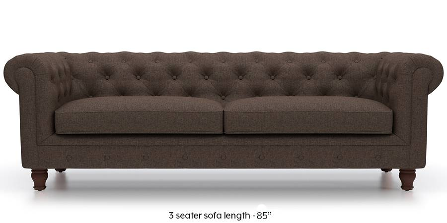 brown fabric sofa clearance leather sectional sofas winchester mocha urban ladder material regular