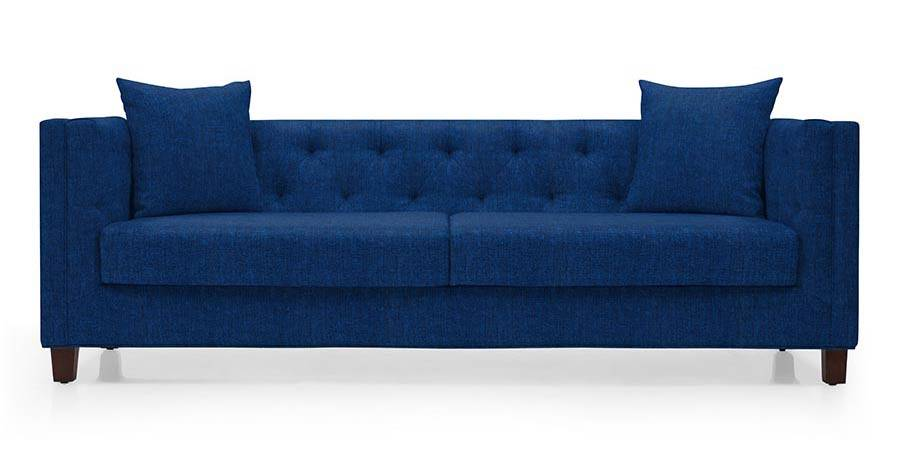 martino leather chaise sectional sofa 2 piece apartment and sleeper pottery barn windsor cobalt blue urban ladder fabric material regular size